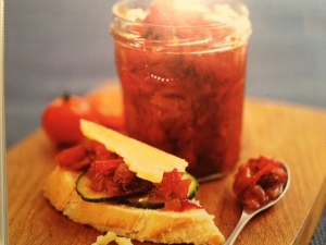 Chillied Tomato & Garlic Chutney