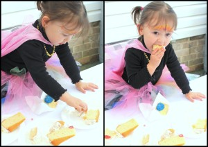 Lilli Cake eating