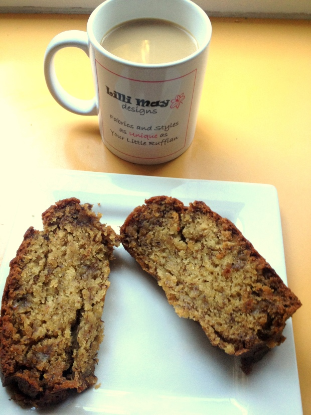 LMD Yummy Moist Egg Free Banana Bread (Lactose Free option also)